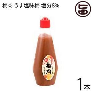 梅肉 うす塩味梅 (塩分8%) 340g×1本 濱田 梅肉ソース 梅肉チューブ クエン酸 リンゴ酸 ...