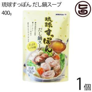琉球すっぽんだし鍋スープ400g×1袋 スッポン すっぽん コラーゲン 沖縄県 だし スープ 鍋  送料無料|umaimon-hunter