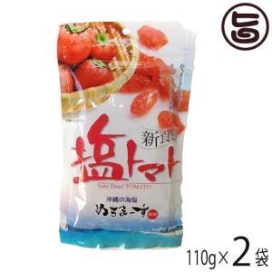 塩トマト 120g×2P 送料無料 沖縄のミネラルたっぷり ...