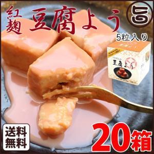 紅麹豆腐よう 5個入×20箱 沖縄 お惣菜 珍味 臭豆腐 塩麹 高級  送料無料 umaimon-hunter
