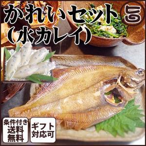 父の日 ギフト かれいセット(水カレイ)セット 島根県 中国地方 干物 高級 ギフト 贈り物 月曜か...