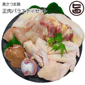 黒さつま鶏 正肉バラエティセット 真栄ファーム ギフト 地鶏 新鮮 贈り物  条件付き送料無料|umaimon-hunter