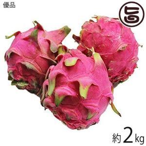 優品 沖縄産 ピタヤ レッドドラゴンフルーツ 約2kg 条件付き送料無料 沖縄 フルーツ お土産