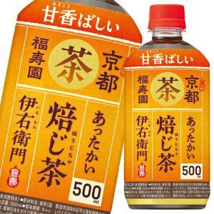 サントリー ホット伊右衛門焙じ茶500ml×2ケース(全48本)【送料無料】