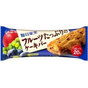 うまい村デイリー グリコ 毎日果実フルーツたっぷりのケーキ 1本 x9|umaimura