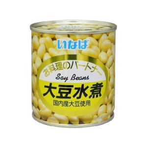 うまい村デイリー いなば 大豆水煮 5号缶 x6|umaimura