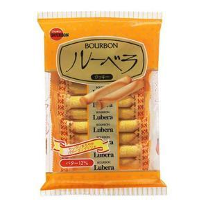 うまい村デイリー ブルボン ルーベラ 10本 x12 バタークッキー ラングドシャ お菓子 まとめ買い|umaimura