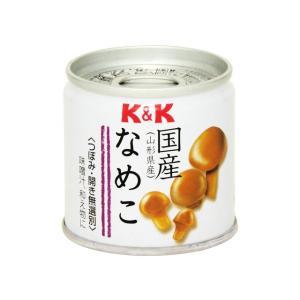 うまい村デイリー K&K 国産 なめこ水煮 EO SS2号缶 x6 umaimura