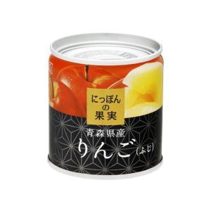 うまい村デイリー K&K にっぽんの果実 りんご(ふじ) EO M2号缶 x6 umaimura