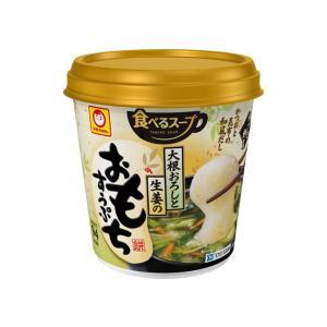 うまい村デイリー マルちゃん おろしと生姜のおもちすうぷ カップ 38g x6|umaimura