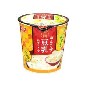 うまい村デイリー 日清食品 旨だし膳豆乳スープ カップ 17g x6|umaimura
