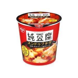 うまい村デイリー 日清 スンドゥブチゲスープ カップ 17g x6|umaimura