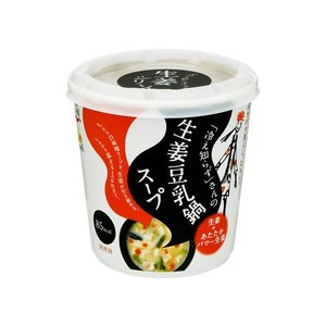 うまい村デイリー 永谷園冷え知らずさんの生姜豆乳鍋カップスープ 29.5g x6|umaimura