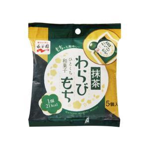 うまい村デイリー 永谷園 ひとくち和菓子 抹茶わらびもち 89g x12 umaimura