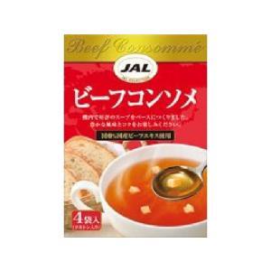 うまい村デイリー 明治 JALスープ ビーフコンソメ 4袋 x5|umaimura