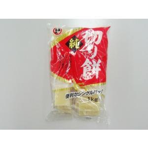 うまい村デイリー 日本もち 純切り餅 シングルパック もち粉使用 1Kg x10|umaimura