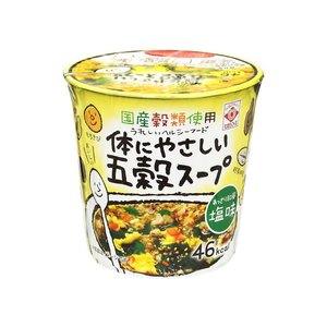 うまい村デイリー ヒガシフーズ 体にやさしい五穀スープ カップ 13g x12|umaimura