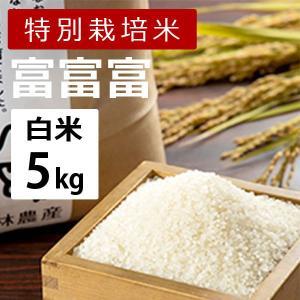 林農産 特別栽培米 富富富 ふふふ (白米・5kg)- 令和2年度|umaimura
