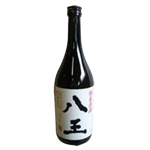 村の酒屋 福鶴 純米原酒 八王(火入れ)白ラベル 1800ml|umaimura