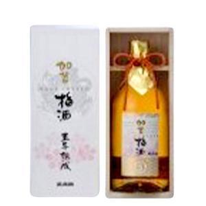 村の酒屋 萬歳楽 加賀梅酒 5年熟成 (箱入)720ml umaimura