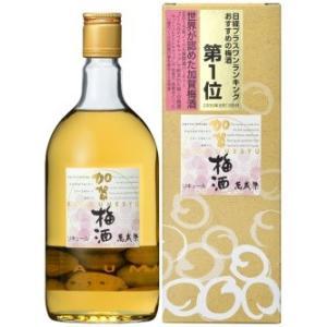 村の酒屋 萬歳楽 加賀梅酒 (箱入)720ml umaimura