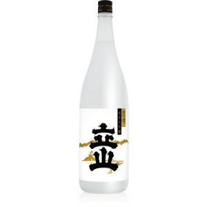 村の酒屋 立山 純米大吟醸 雨晴  1800ml|umaimura