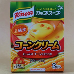 カップスープ コーンクリーム 自家製クルトン入り 3袋入箱|umairadotcom