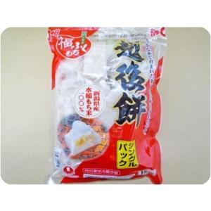 新潟県産もち米100%切り餅 マルシン食品 越後餅 1kg|umairadotcom