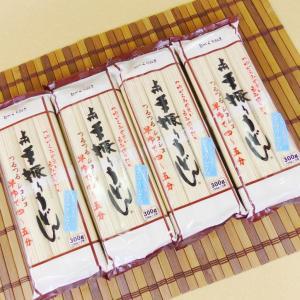 星野 手振りうどん 300g×4袋  化粧箱入り 手土産ギフト 包装・のし紙 無料対応品|umairadotcom