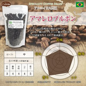 ブラジル アマレロブルボン アルコイリス農園 200g|umakacoffee-store