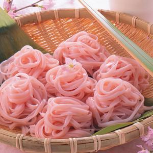 桜めん 160g×2束 素麺 乾麺 手延べ 乾燥めん めんつゆ付き やない製麺 送料無料 贈答品 お取り寄せ|umakore