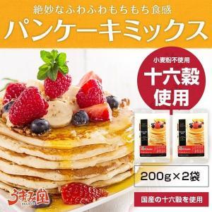 セール 1000円 十六穀 パンケーキミックス 200g×2...