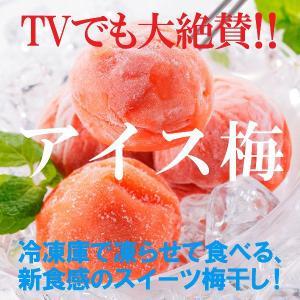■梅干(塩分2.5%)16粒(400g) ・冷凍庫で凍らせて食べる、シャリじゅわ新食感のスイーツ梅干...