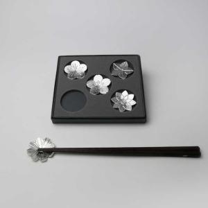 【能作】箸置 - 「花ばな」 20%OFF|umd-tsutayabooks