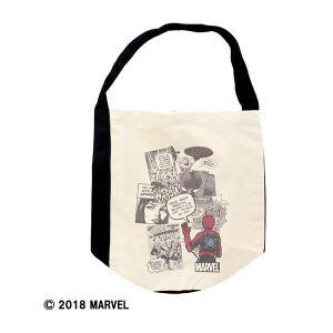 MARVEL マーベル オリジナルトートバッグ スパイダーマン   メーカー:パニカムトーキョー|umd-tsutayabooks