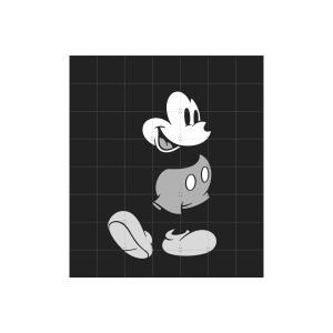 IXXI Mickey Mouse black/white - small [80*100]|umd-tsutayabooks