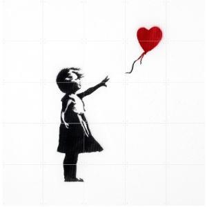 IXXI Girl with Balloon - small [100*100]|umd-tsutayabooks