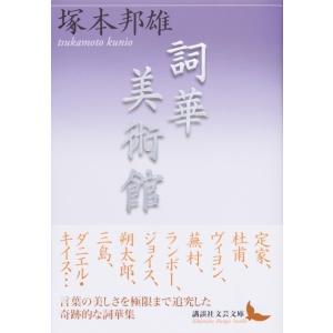詞華美術館 著:塚本 邦雄 講談社文芸文庫 umd-tsutayabooks
