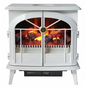 ディンプレックス DIMPLEX バーゲイト Burgate 電気暖炉 ホワイト|umd-tsutayabooks