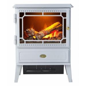 ポイント10倍  ディンプレックス DIMPLEX ゴスフォード Gosford 電気暖炉 ホワイト|umd-tsutayabooks