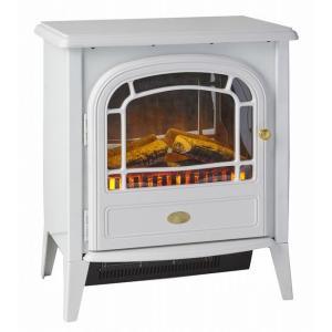 ディンプレックス DIMPLEX アークリー Arkley 電気暖炉 ホワイト|umd-tsutayabooks