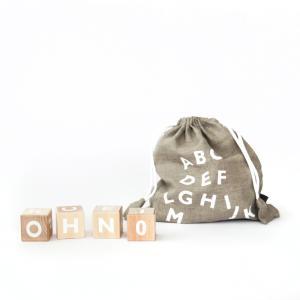 [caizu]oohnoo ALPHABET BLOCKS White / カイズ オーノー アルファベットブロック 白 umd-tsutayabooks