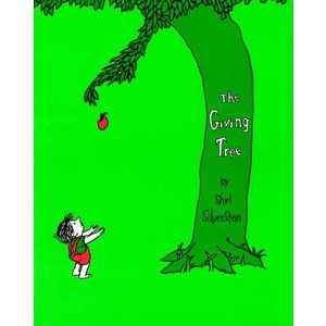 The Giving Tree  by Shel Silverstein|umd-tsutayabooks