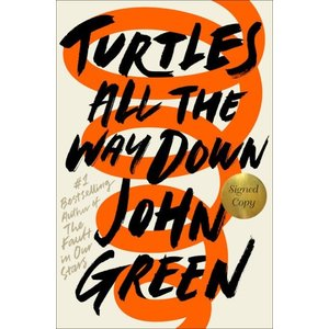 受注販売 TURTLES ALL THE WAY DOWN(H)  著:John Green|umd-tsutayabooks