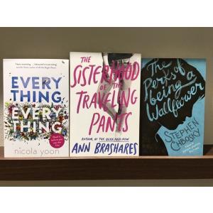 【送料無料:3冊セット】Everything, Everything + The Sisterhood of the Traveling Pants + The Perks of Being a Wallflower|umd-tsutayabooks