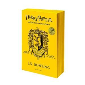 ハリー・ポッターと賢者の石 20周年記念英語版 ペーパーバック版 ハッフルパフ版|umd-tsutayabooks