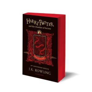 予約受付中 ハリー・ポッターと秘密の部屋 20周年記念英語版 ペーパーバック版 グリフィンドール版 6月下旬発売|umd-tsutayabooks