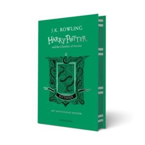 予約受付中 ハリー・ポッターと秘密の部屋 20周年記念英語版 ハードカバー版 スリザリン版|umd-tsutayabooks
