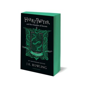 予約受付中 ハリー・ポッターと秘密の部屋 20周年記念英語版 ペーパーバック版 スリザリン版 6月下旬発売|umd-tsutayabooks