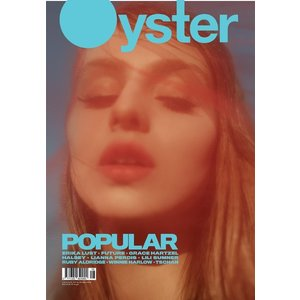 Lianna Perdis covers Oyster Magazine #112 by Georges Antoni 'One Of Us'|umd-tsutayabooks
